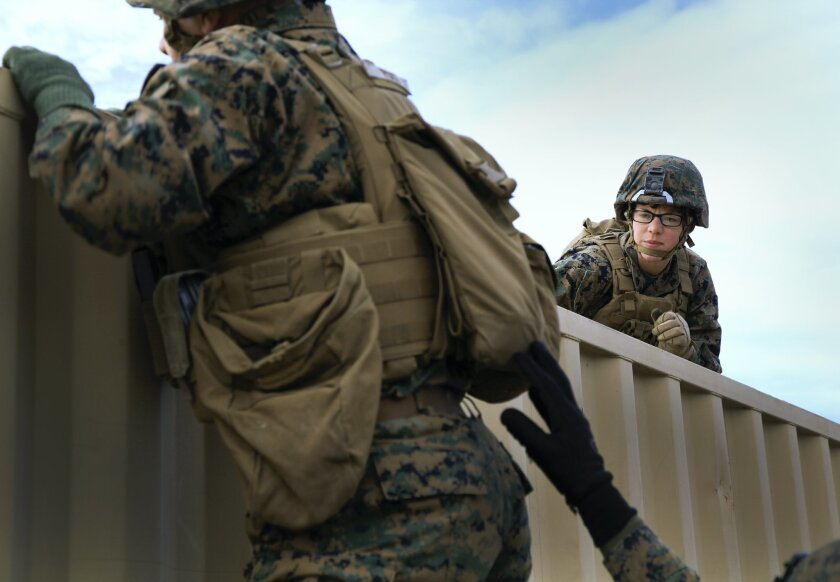 Four women aiming to make Marine Corps history - The San