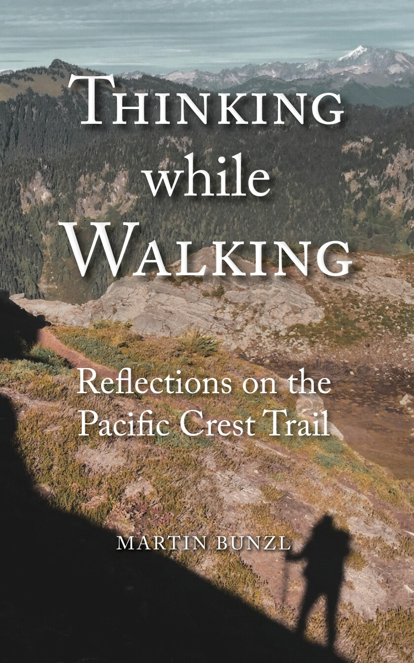 """La Jollan Martin Bunzl's """"Thinking While Walking"""" explores the relationship of humans to nature."""