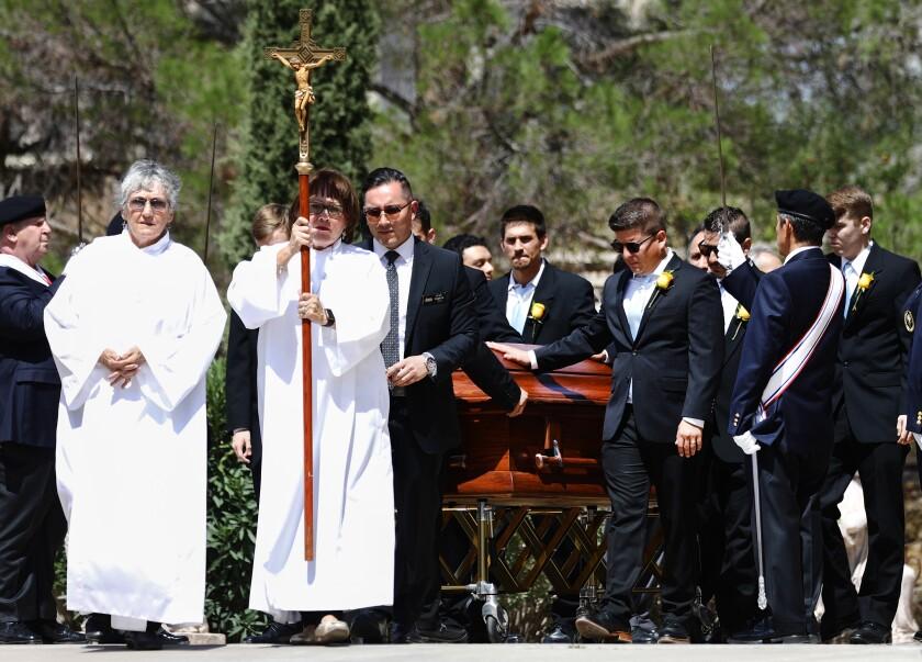 Funeral for Angelina Englisbee