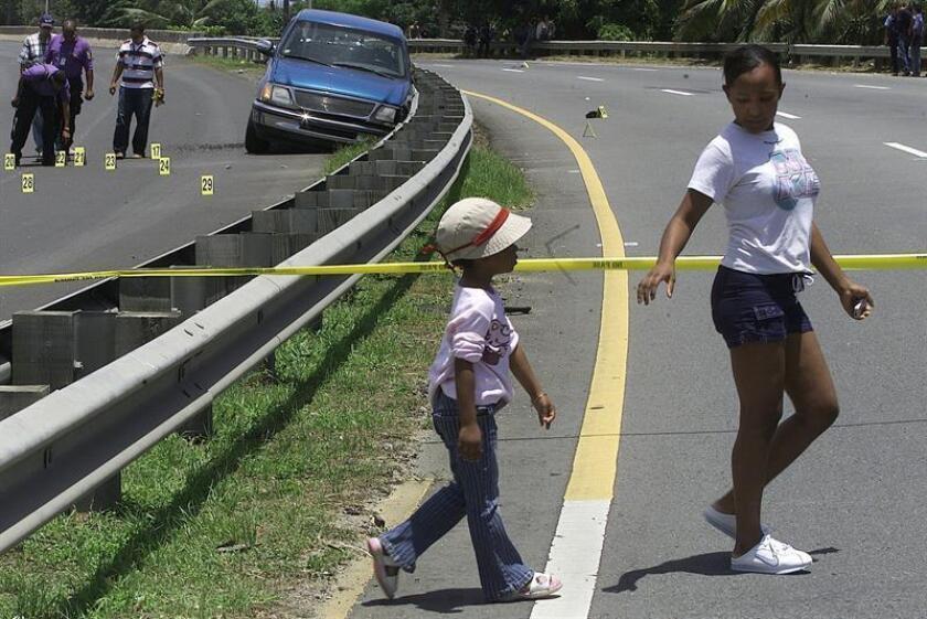 La cifra de homicidios en Puerto Rico en lo que va de 2018 se elevó a 500 tras los últimos incidentes registrados, lo que supone 34 menos que en la misma fecha del pasado año, informó hoy la Policía de la isla caribeña. EFE/Archivo