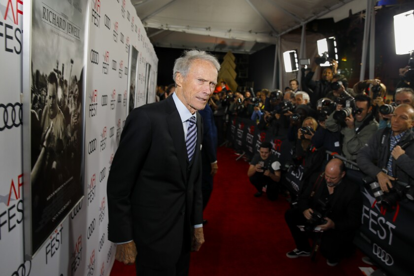 """Clint Eastwood at the AFI Fest premiere of """"Richard Jewell."""""""