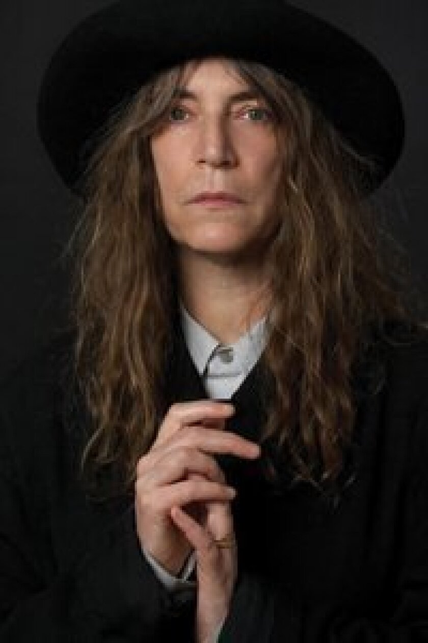Legendary poet, punk rocker and author Patti Smith will appear at the Spreckels Theatre Oct.13. Patti Smith, 2007