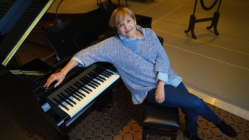 "Mezzo-soprano Frederica von Stade wh stars in San Diego Opera's ""Three Decembers,"" playing March 8-1"