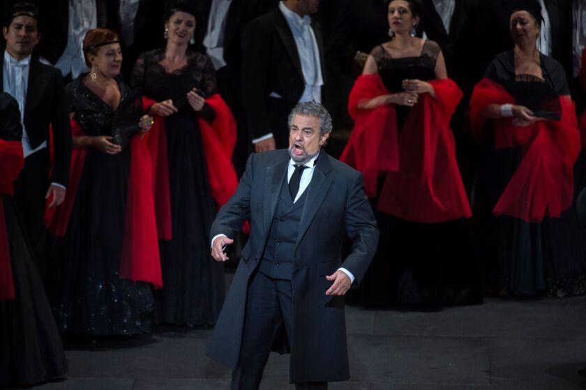 El tenor en escena.