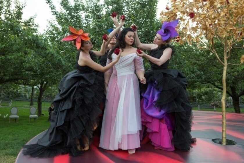 Beverly Hills park will be a lush setting for 'Rappaccini's Daughter'