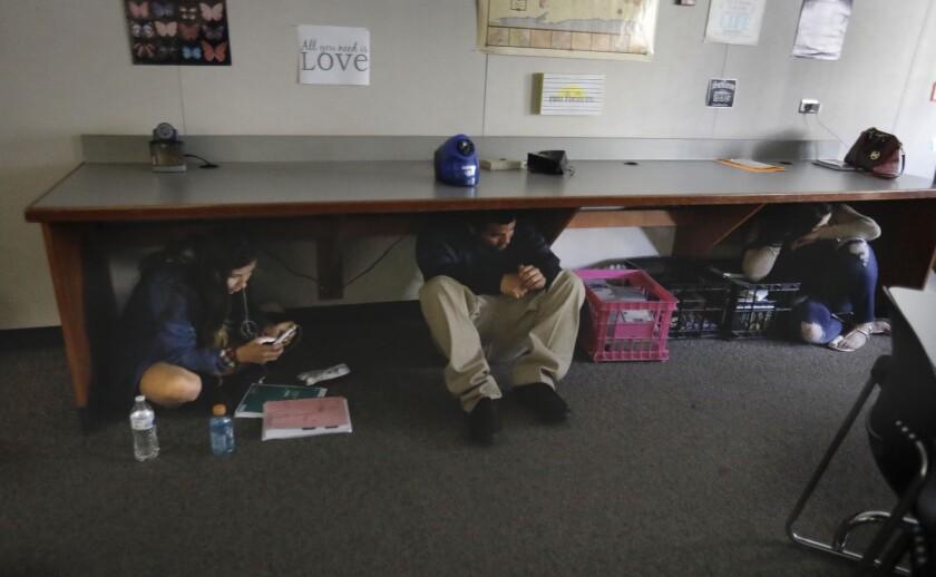 School Lockdown Drills
