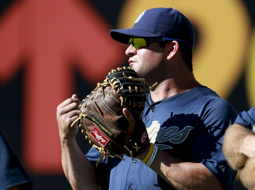Justin Hatcher, Padres bullpen catcher