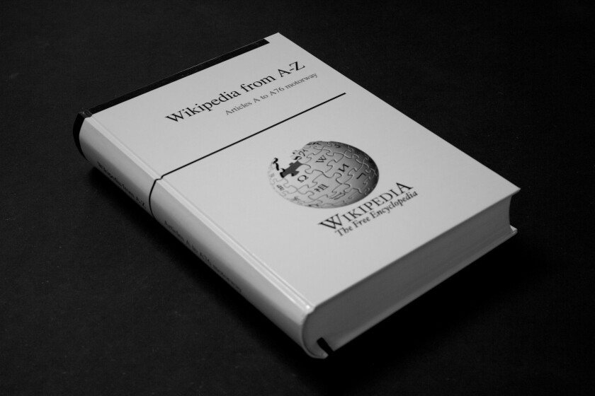 PediaPress proposes to put all of Wikipedia into print