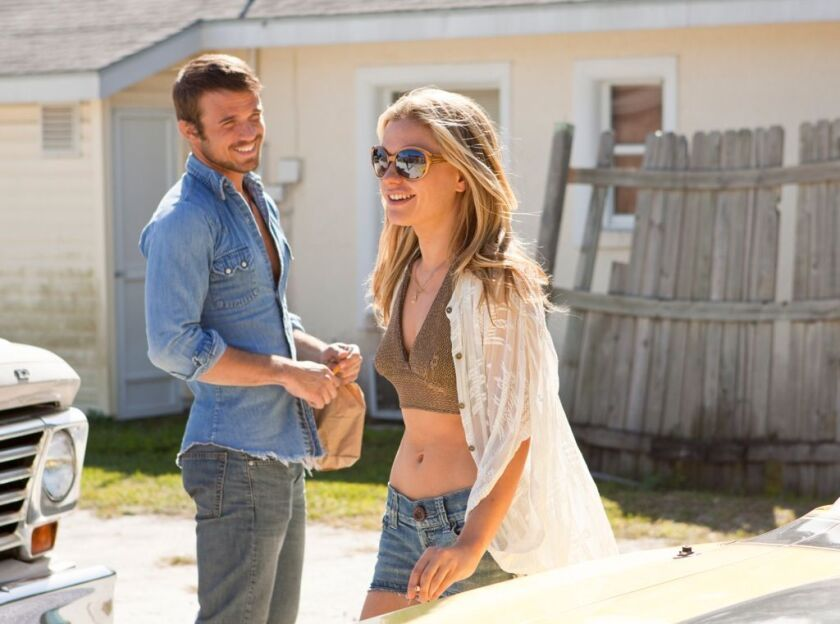 """Anna Paquin and Cam Gigandet in """"Free Ride."""""""