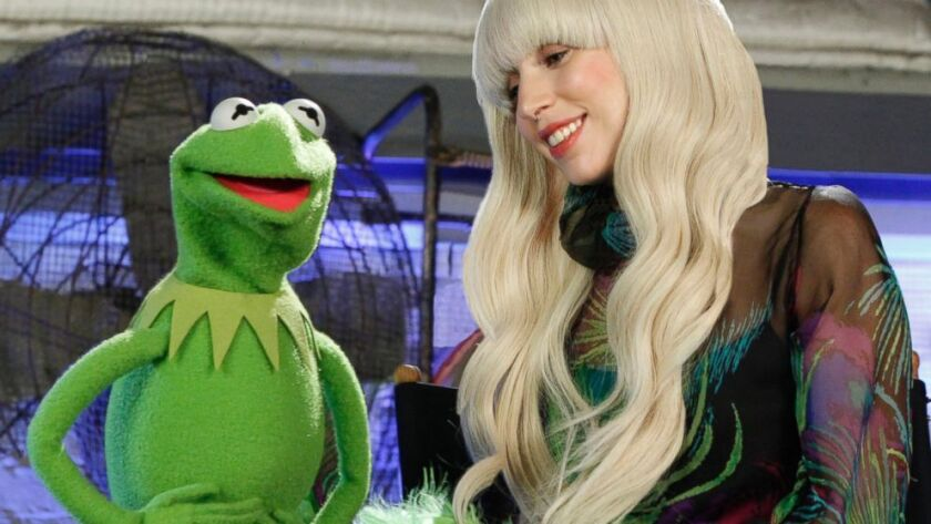 """ABC will air a 90-minute special, """"Lady Gaga & the Muppets' Holiday Spectacular,"""" on Nov. 28."""