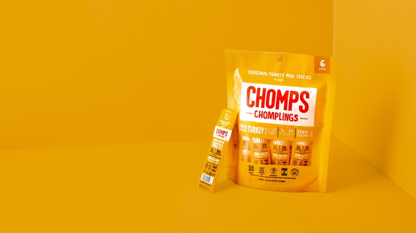 Chomps has its new Chomplings, miniature sticks made with meat.