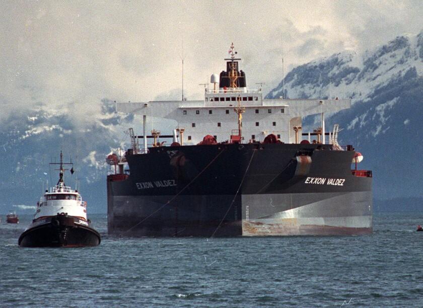 The Exxon Valdez spill