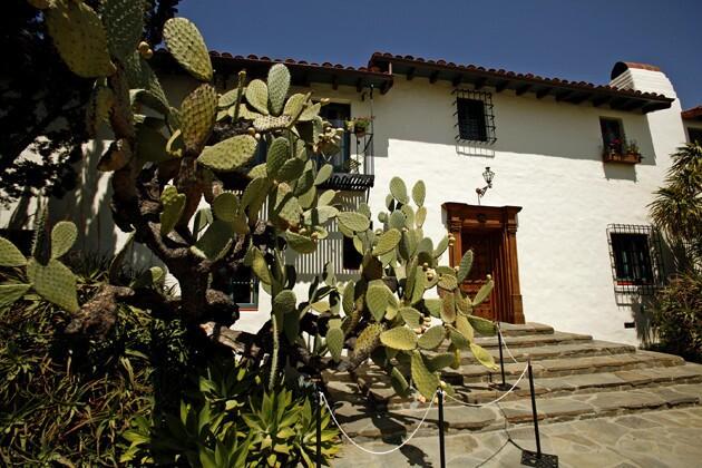 The entry to the 2012 Pasadena Showcase House of Design.