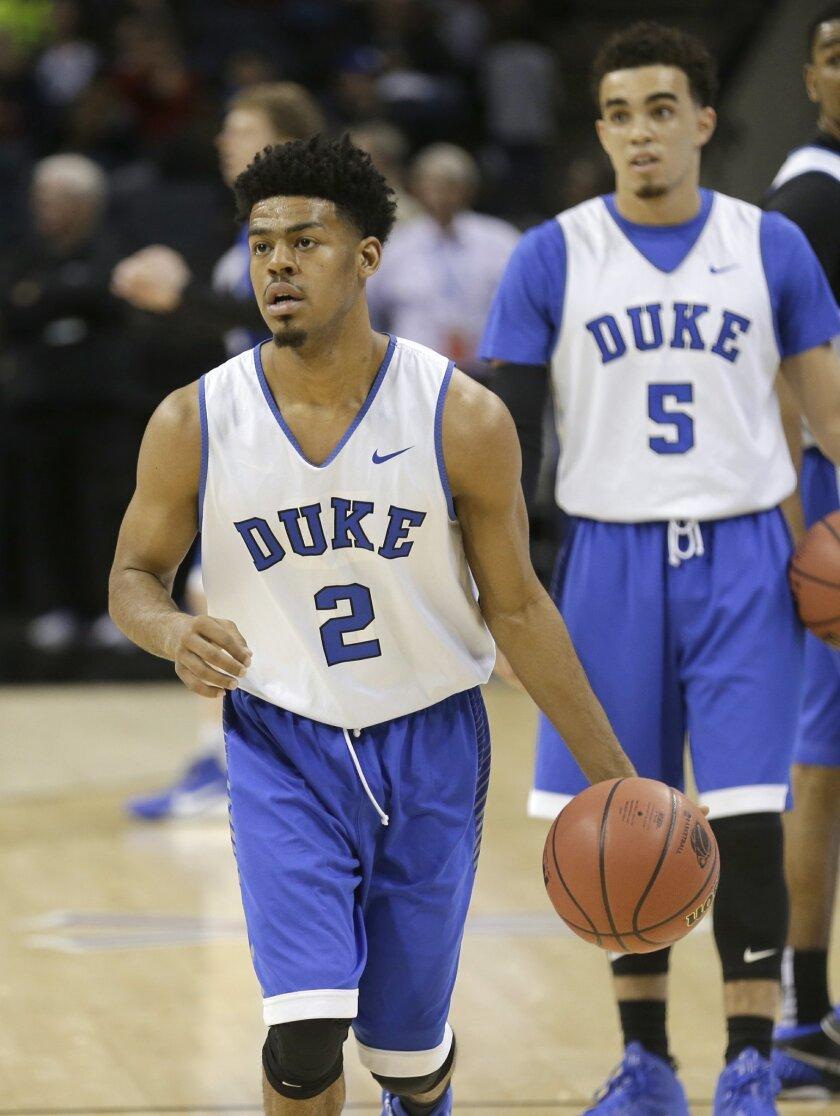 separation shoes 12eb8 911fe Cook starts final NCAA run with Duke vs. Robert Morris - The ...