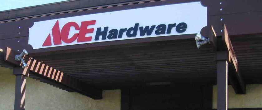 Country Hardware Store, which is replacing Ace Hardware, is searching for a hardware supplier and manager.