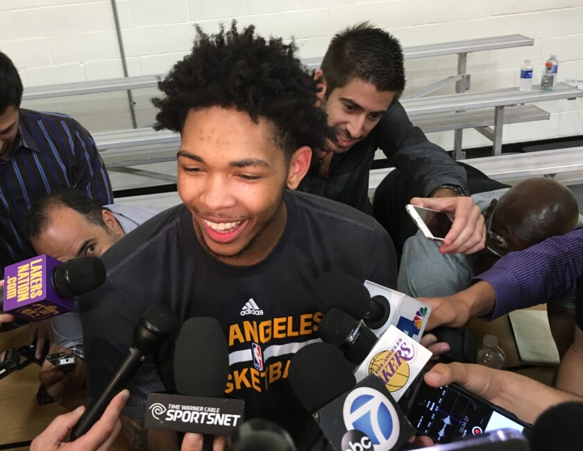 Duke star Brandon Ingram has pre-draft workout for Lakers