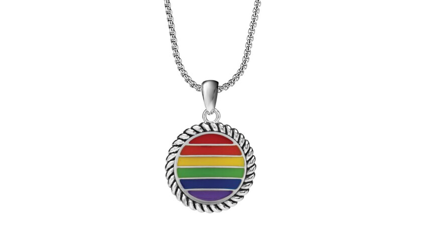 Jewelry brand Magnolia and Vine has created pieces bearing motifs relating to Pride Credit - Magnol