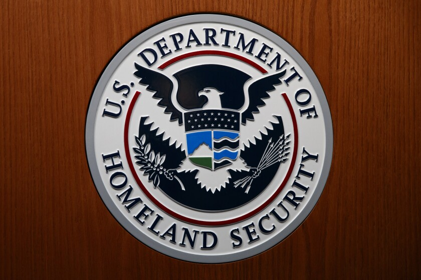 The U.S. Department of Homeland Security seal