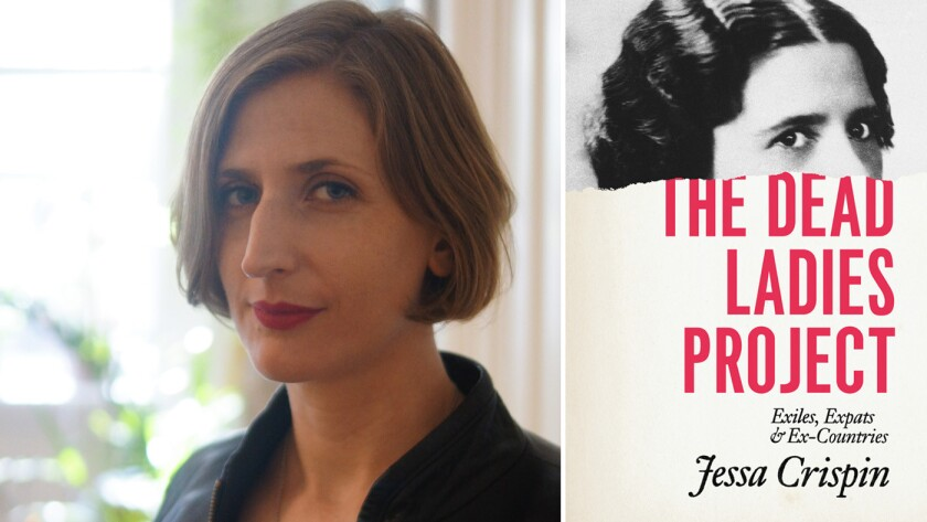 """Author Jessa Crispin and her book """"The Dead Ladies Project: Exiles, Expats and Ex-Countries."""""""