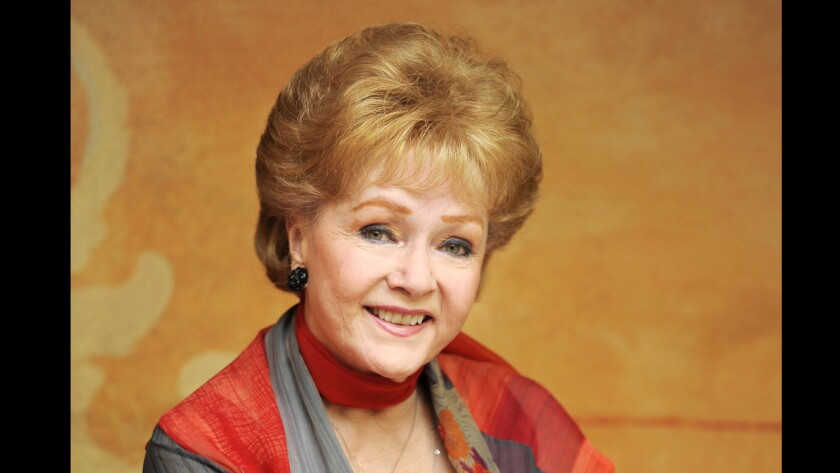 Actress Debbie Reynolds poses for a portrait in Beverly Hills on May 21, 2013.