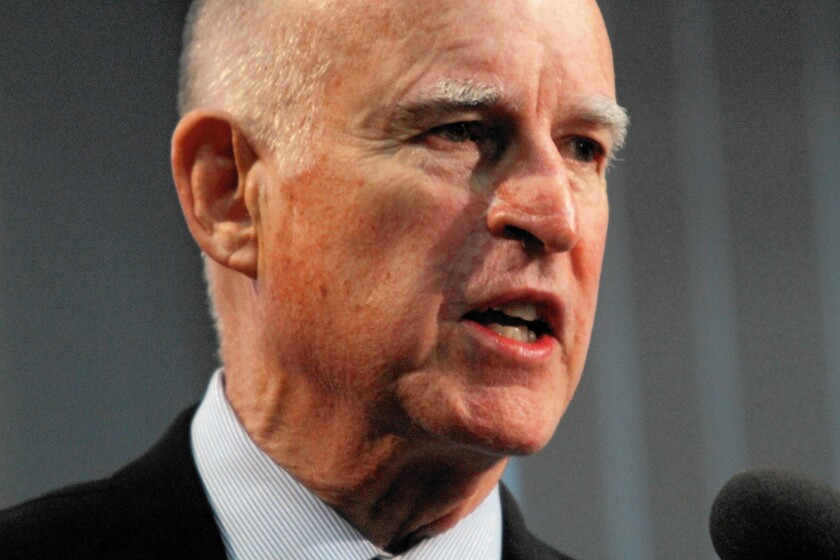 Gov. Jerry Brown, seeking an unprecendented fourth term, suggests he'd finally mastered California's political complexities, saying he's been squirreling away much of his campaign money for ballot measure campaigns that he might need to mount during a final term.