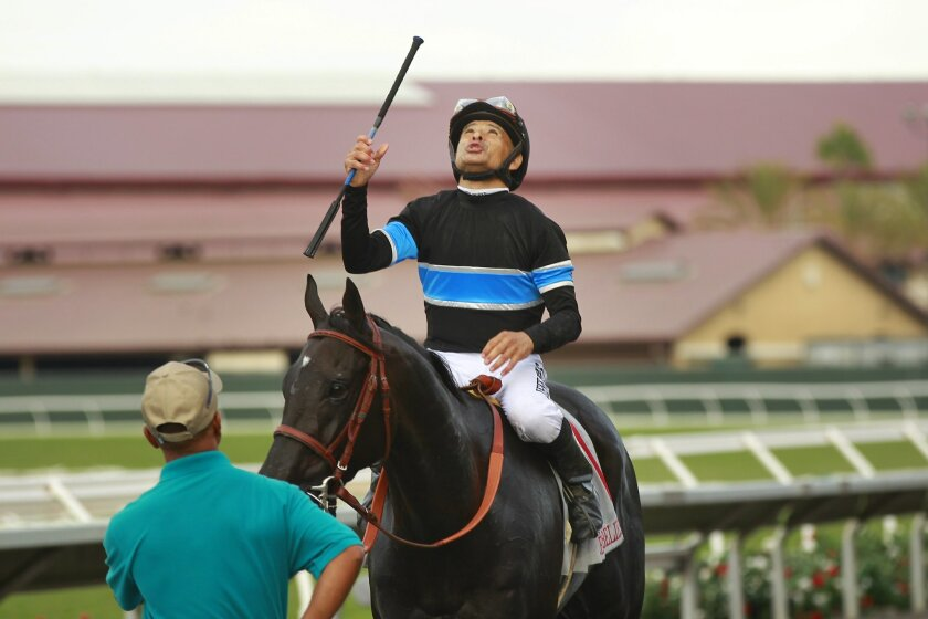 Mike Smith might be the only member of the Del Mar jockey colony to have a mount in the Kentucky Derby.