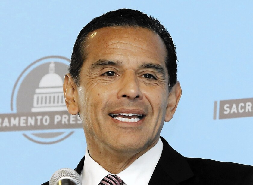 Former L.A. Mayor Antonio Villaraigosa says he's seriously considering running for the U.S. Senate seat being vacated by Barbara Boxer. California Atty. Gen. Kamala Harris has already declared her candidacy and won endorsements.