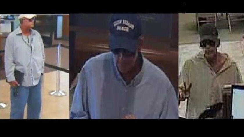 Wells Fargo offers $5,000 reward after same man robs third