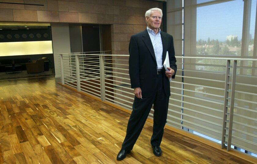Jay Flatley, chief executive of the San Diego-based company Illumina.  /  photo by Nelvin C. Cepeda * U-T
