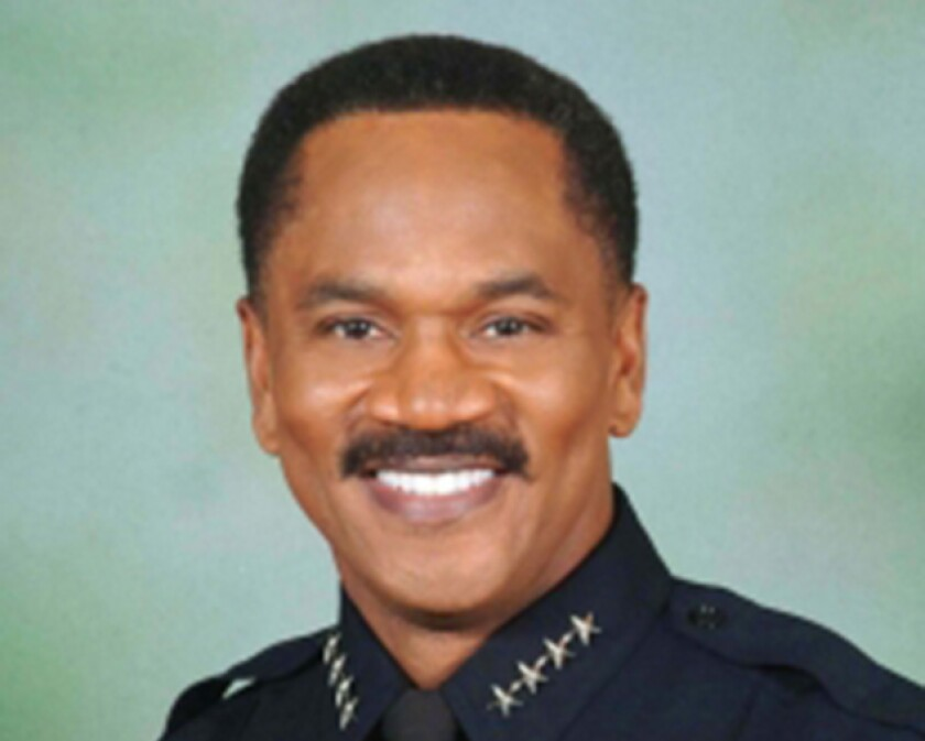 Upland officials placed Police Chief Darren Goodman on paid administrative leave