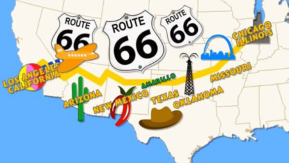 Photos: The real Route 66 inspirations for Disney's Cars ... on pixar movies map, disney movies and swords, disney movies and turtles, disney film map, disney on a map, disney movies and dogs, disney cartoon map, frozen movie map, disney pixar map, disney movies and birds, disney world location map, disney movies and death, disney movies 2017, disney princess map, disney movies and rabbits, disney locations around the world, positive psychology mind map, disney movies and cats, disney movies and crocodiles, disney channel map,