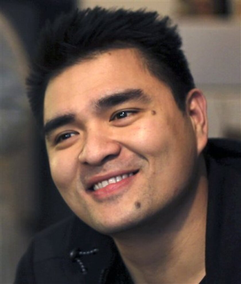 This undated handout photo provided by Define American shows Jose Antonio Vargas. Vargas, a Pulitzer Prize-winning journalist who covered presidential politics and the 2007 Virginia Tech shootings in a high-profile reporting job at The Washington Post is going on network television to announce he is an illegal immigrant. (AP Photo/Define American)