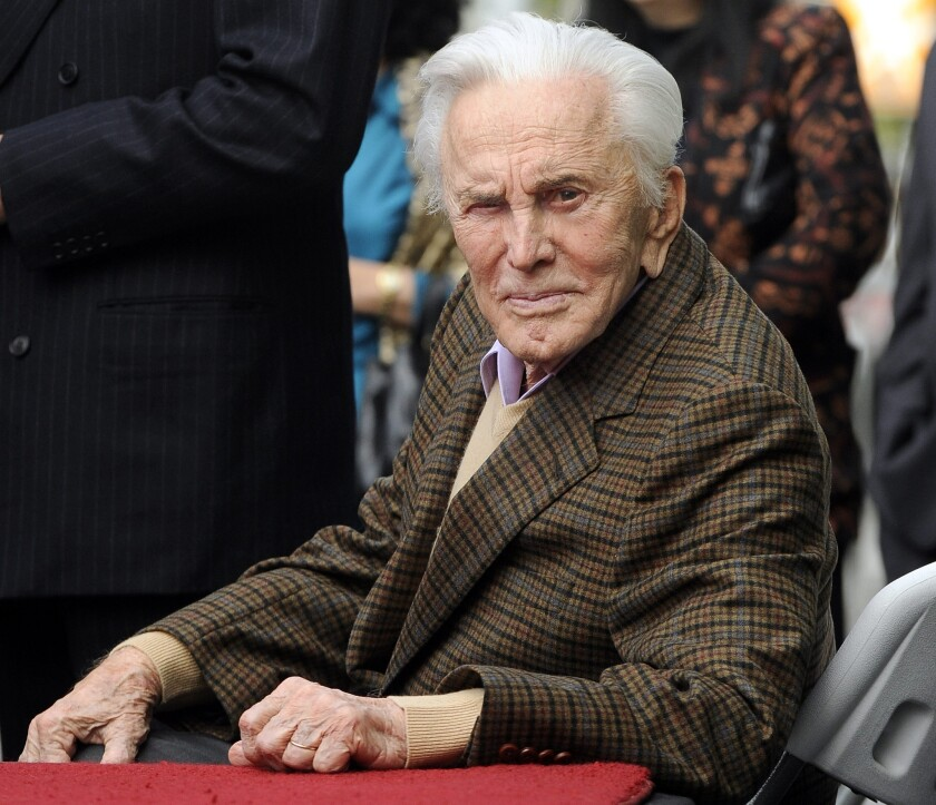 Kirk Douglas is helping to underwrite a $35-million care facility for the Motion Picture & Television Fund.