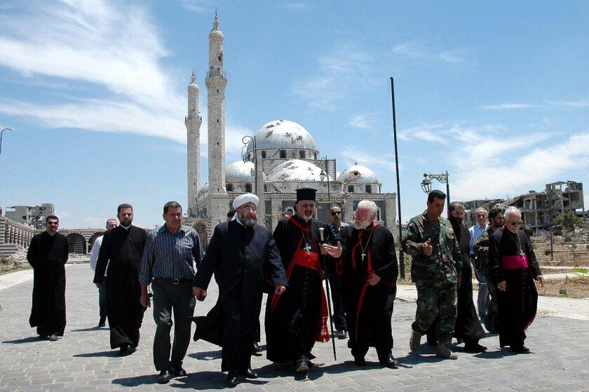 Truce in Syria, suburb