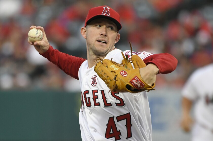 Angels pitcher Griffin Canning will begin the season on the disabled list after experiencing elbow soreness following his first spring start.