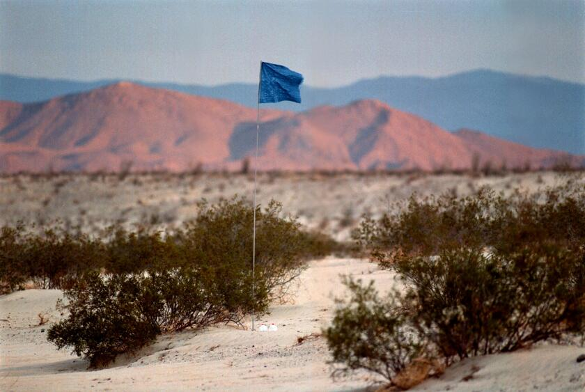 Water Stations Help Immigrants Survive Desert Crossing