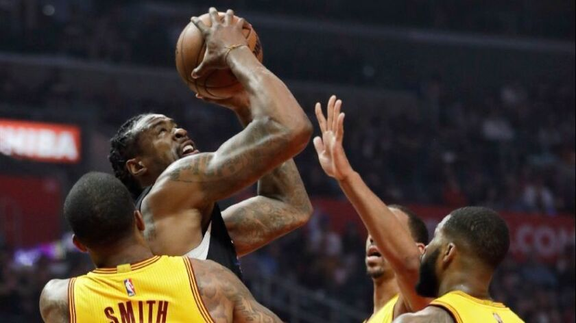 Clippers roll Cavaliers, 108-78, as Cleveland rests James, Irving and Love