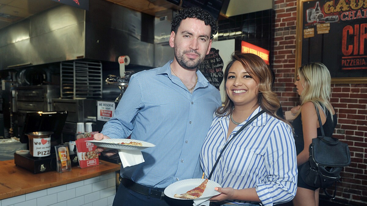 Attendees at the 26th annual Taste of Downtown sampled bites from restaurants like Ciro's Pizza, Burger Lounge, STK and more on Thursday, Sept. 16, 2018.
