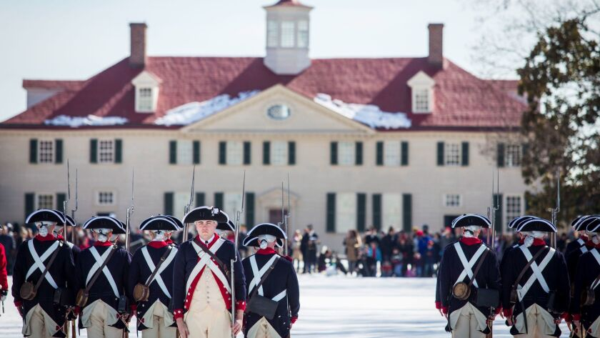 George Washington's Mount Vernon estate in Virginia is one of the stops on the 11-day Revolutionary War Cruise.