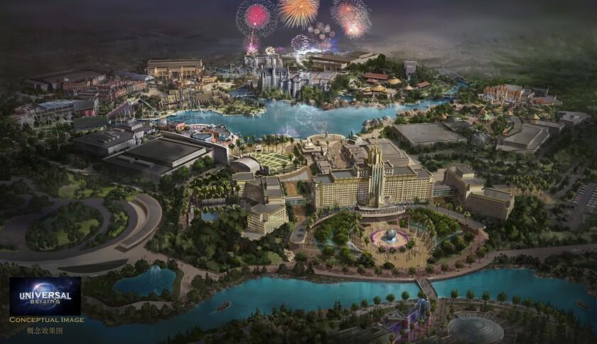Universal Studios Beijing rendering