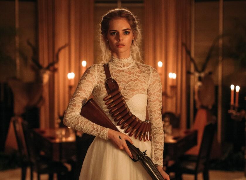 La actriz australiana interpreta a una mujer de armas tomar.