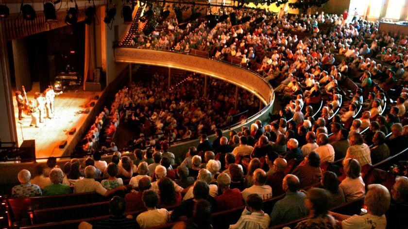 The Ryman Auditorium in Nashville