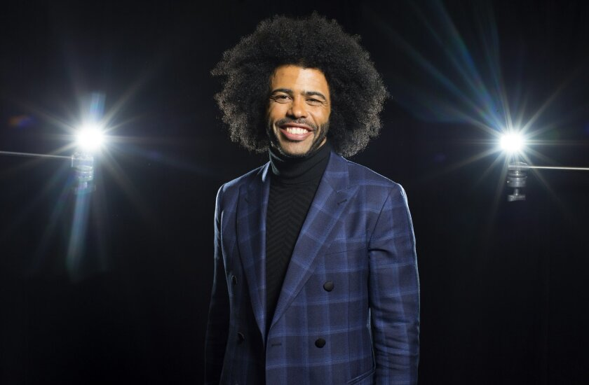 Tony Award nominee Daveed Diggs poses for a photo in New York.