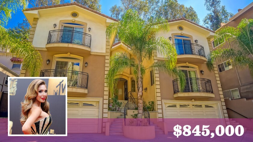 Reality television personality Farrah Abraham has bought a townhouse in Hollywood Hills for $845,000.