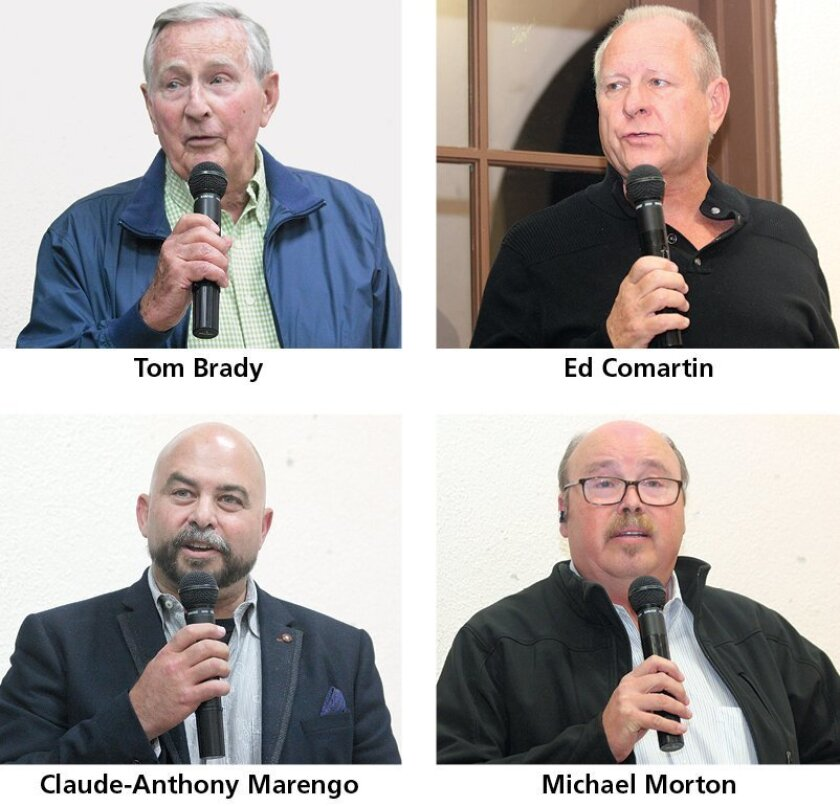 Candidates on this year's ballot for the La Jolla Community Planning Association's March 5 election include the following. Not pictured are Cynthia Bond, Dolores Donovan, Steve Haskins and David Little.