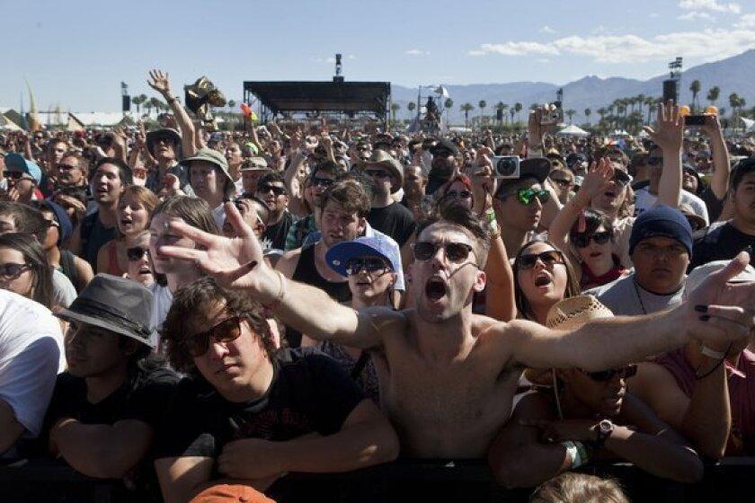 Coachella Music Festival crowd