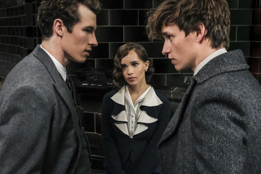 """Una escena de la segunda entrega de """"Fantastic Beasts"""", la nueva saga escrita por la inglesa J.K. Rowling."""