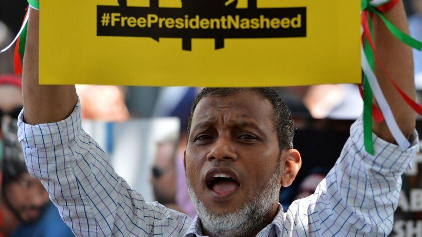 SRI LANKA-MALDIVES-POLITICS