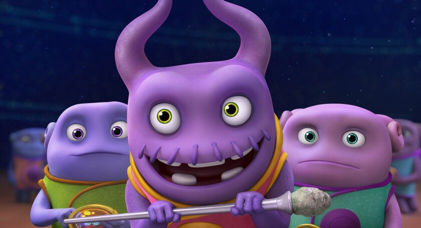 DreamWorks Animation's 'Home'
