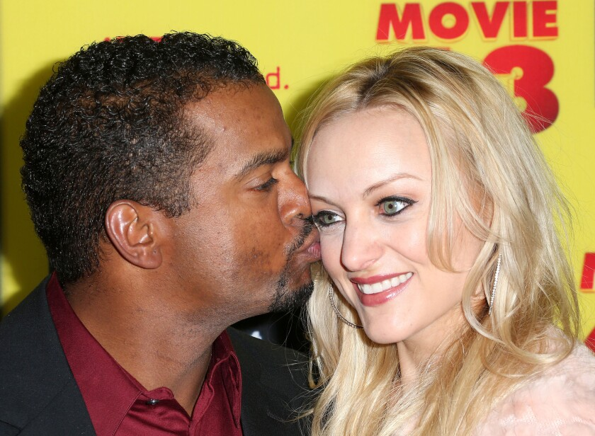 Actor Alfonso Ribeiro and actress Angela Unkrich are expecting their first child together.